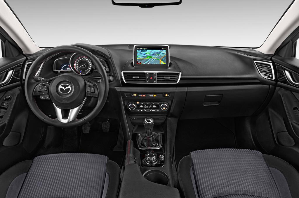 Mazda 3 Center-Line Kompaktklasse (2013 - heute) 5 Türen Cockpit und Innenraum