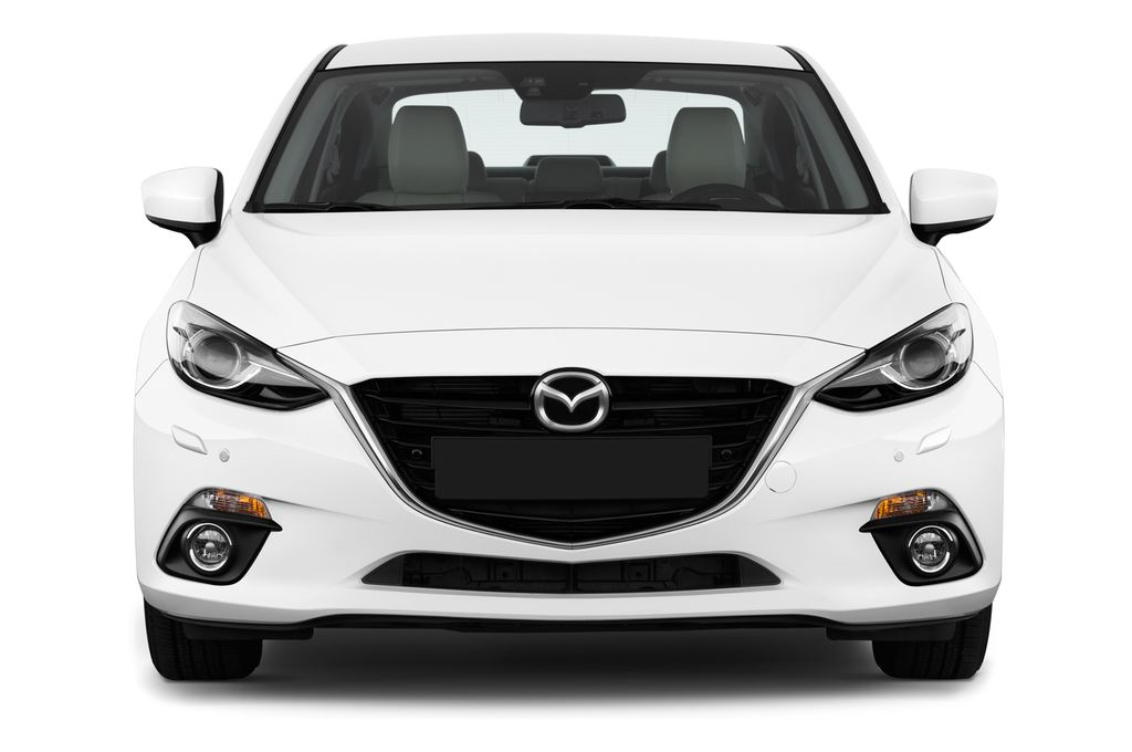 Mazda 3 Sports-Line Kompaktklasse (2013 - heute) 4 Türen Frontansicht