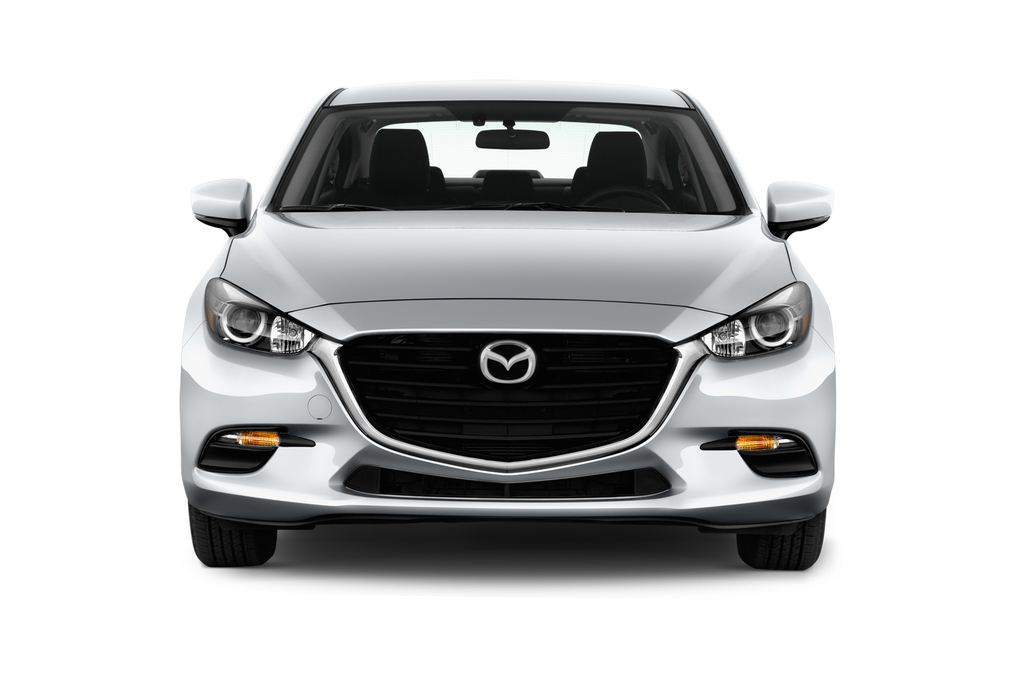 Mazda 3 Center-Line Kompaktklasse (2013 - heute) 4 Türen Frontansicht