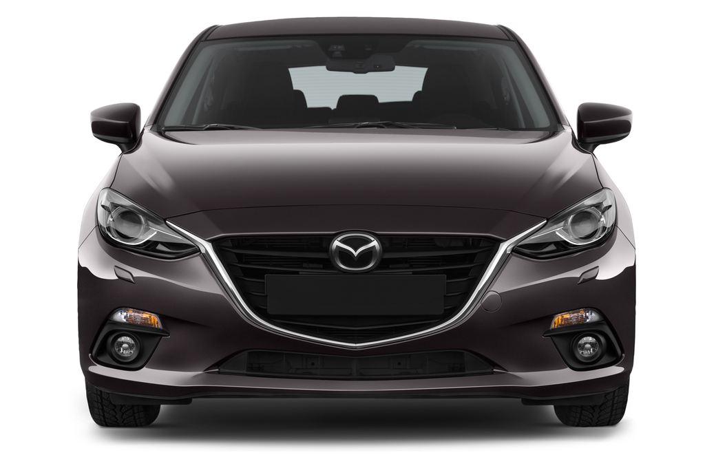Mazda 3 Center-Line Kompaktklasse (2013 - heute) 5 Türen Frontansicht