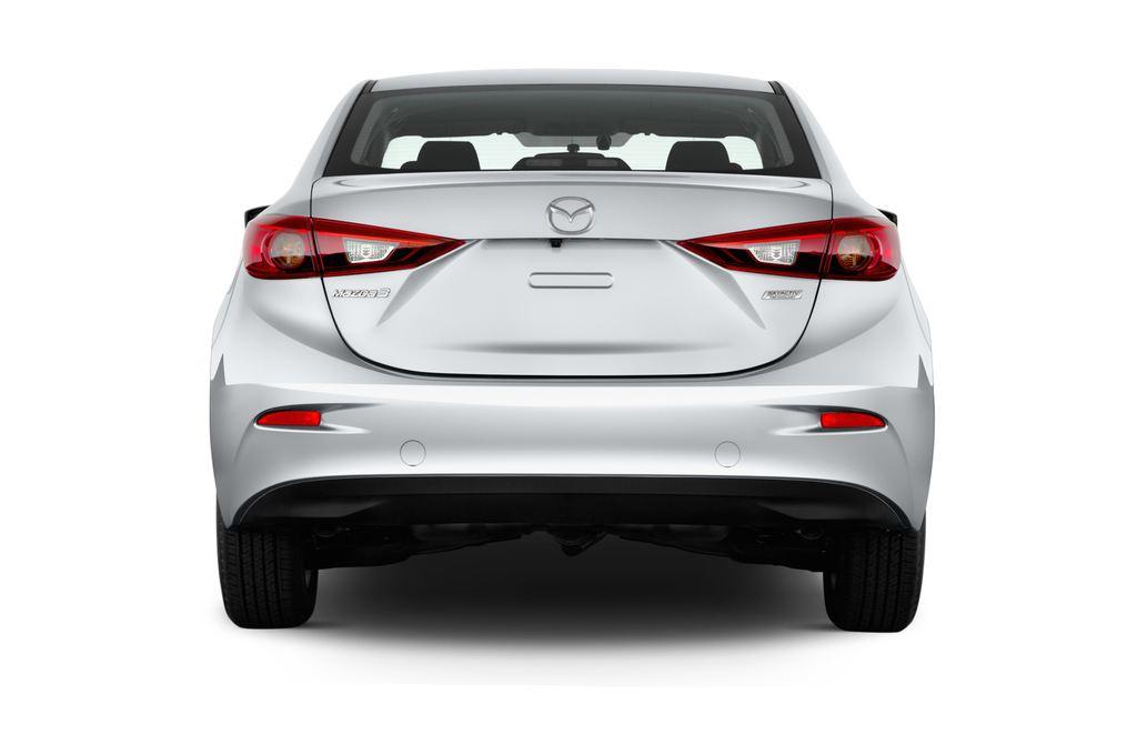 Mazda 3 Center-Line Kompaktklasse (2013 - heute) 4 Türen Heckansicht