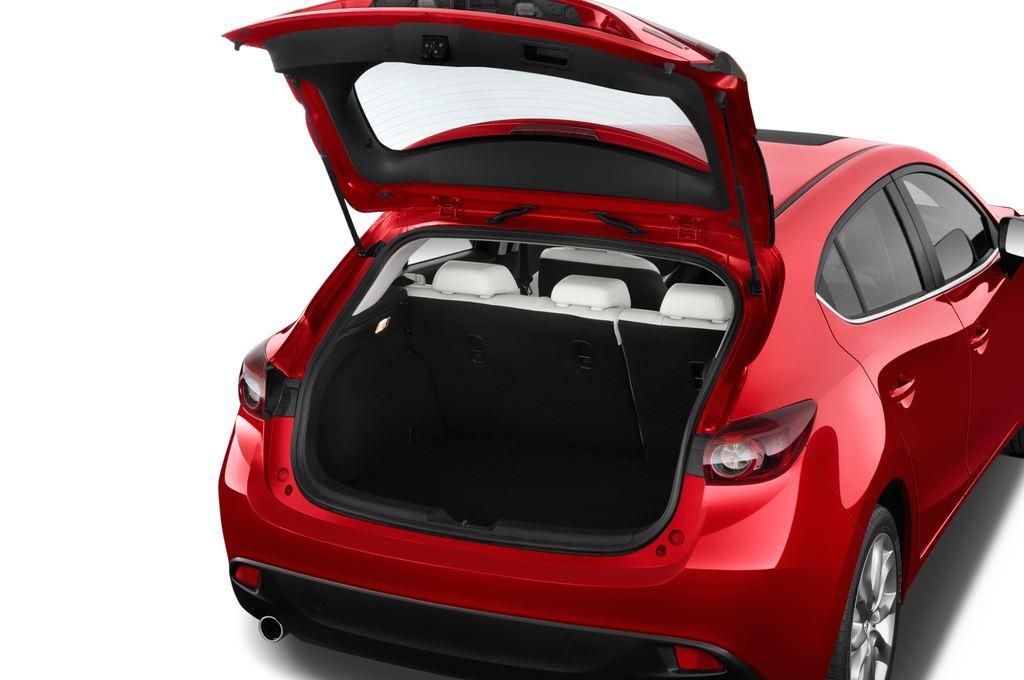 Mazda 3 Sports-Line Kompaktklasse (2013 - heute) 5 Türen Kofferraum