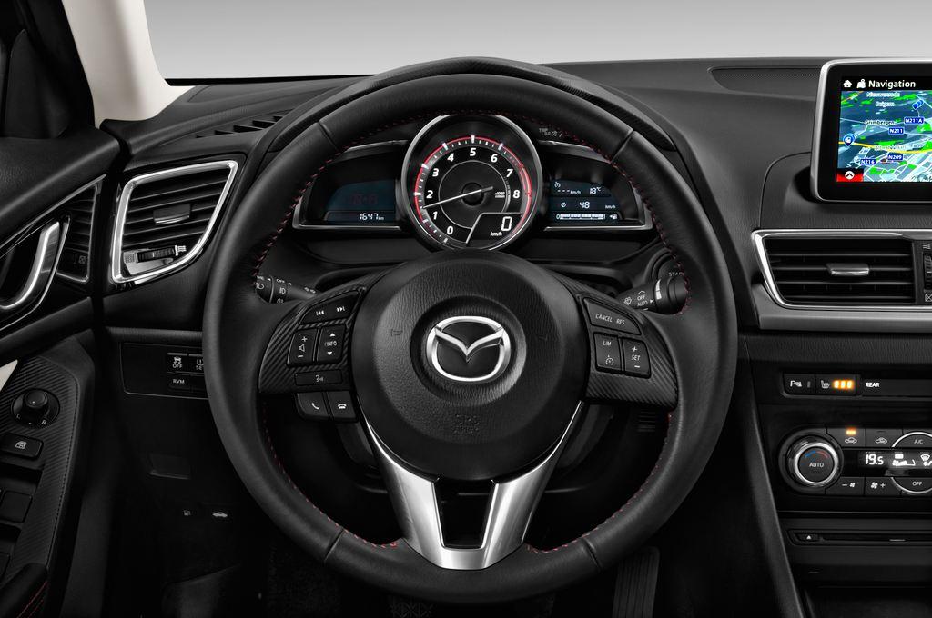 Mazda 3 Sports-Line Kompaktklasse (2013 - heute) 4 Türen Lenkrad