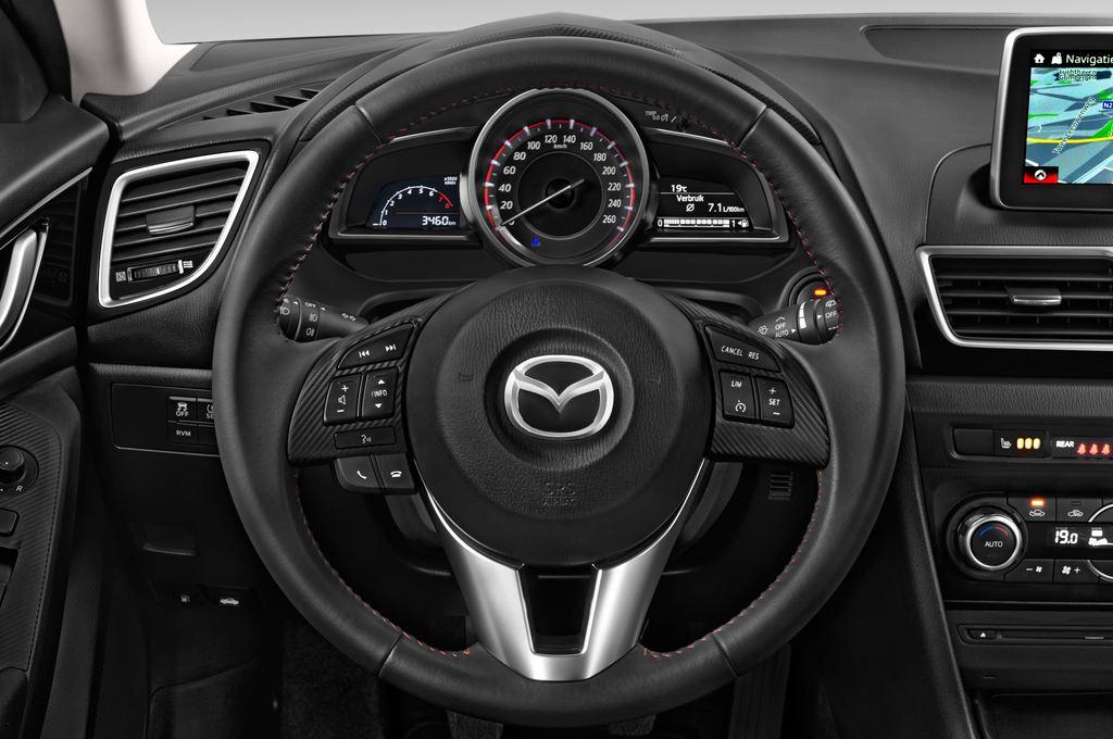 Mazda 3 Center-Line Kompaktklasse (2013 - heute) 5 Türen Lenkrad