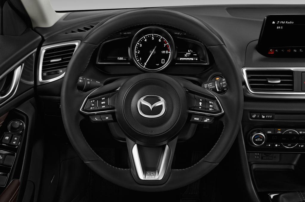 Mazda 3 Sports-Line Kompaktklasse (2013 - heute) 5 Türen Lenkrad