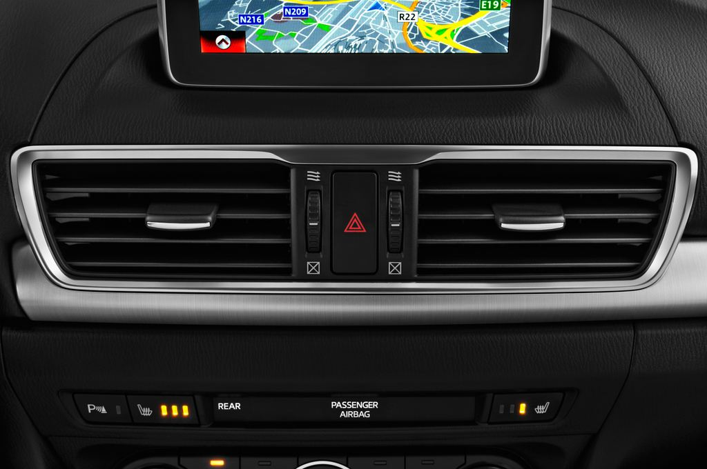 Mazda 3 Sports-Line Kompaktklasse (2013 - heute) 4 Türen Lüftung