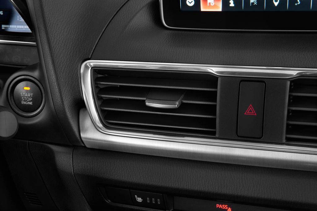 Mazda 3 Sports-Line Kompaktklasse (2013 - heute) 5 Türen Lüftung