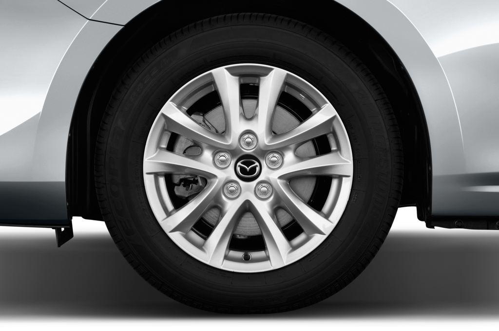 Mazda 3 Center-Line Kompaktklasse (2013 - heute) 4 Türen Reifen und Felge