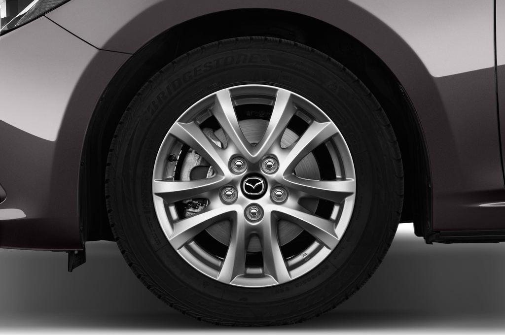 Mazda 3 Center-Line Kompaktklasse (2013 - heute) 5 Türen Reifen und Felge
