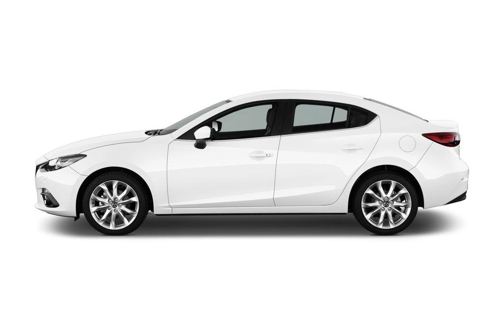 Mazda 3 Sports-Line Kompaktklasse (2013 - heute) 4 Türen Seitenansicht