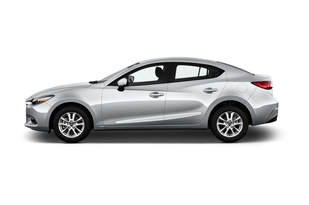 Mazda 3 Center-Line Kompaktklasse (2013 - heute) 4 Türen Seitenansicht
