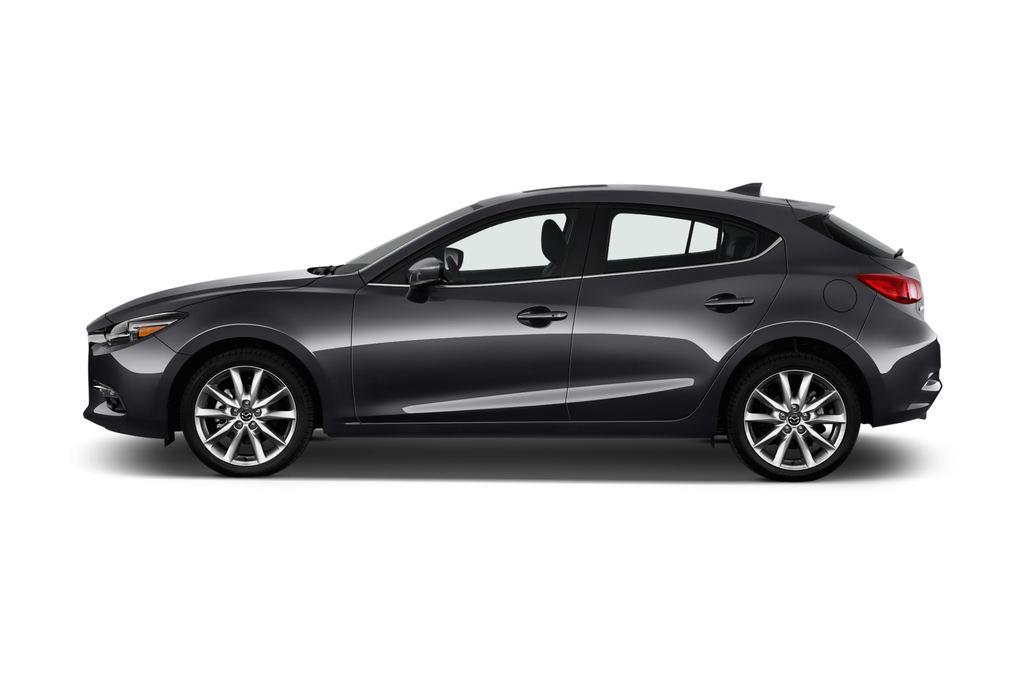 Mazda 3 Sports-Line Kompaktklasse (2013 - heute) 5 Türen Seitenansicht