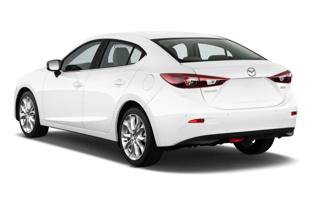 Mazda 3 Sports-Line Kompaktklasse (2013 - heute) 4 Türen seitlich hinten