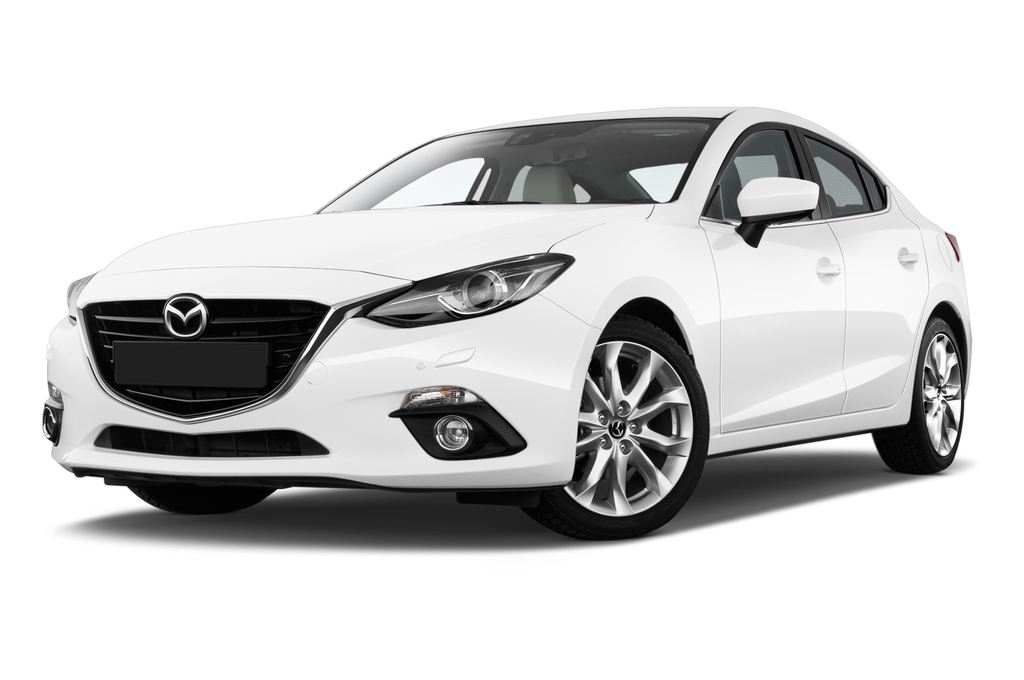 Mazda 3 Sports-Line Kompaktklasse (2013 - heute) 4 Türen seitlich vorne mit Felge