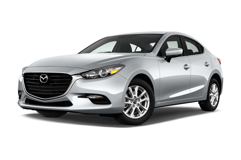 Mazda 3 Center-Line Kompaktklasse (2013 - heute) 4 Türen seitlich vorne mit Felge