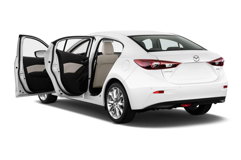 Mazda 3 Sports-Line Kompaktklasse (2013 - heute) 4 Türen Tür geöffnet