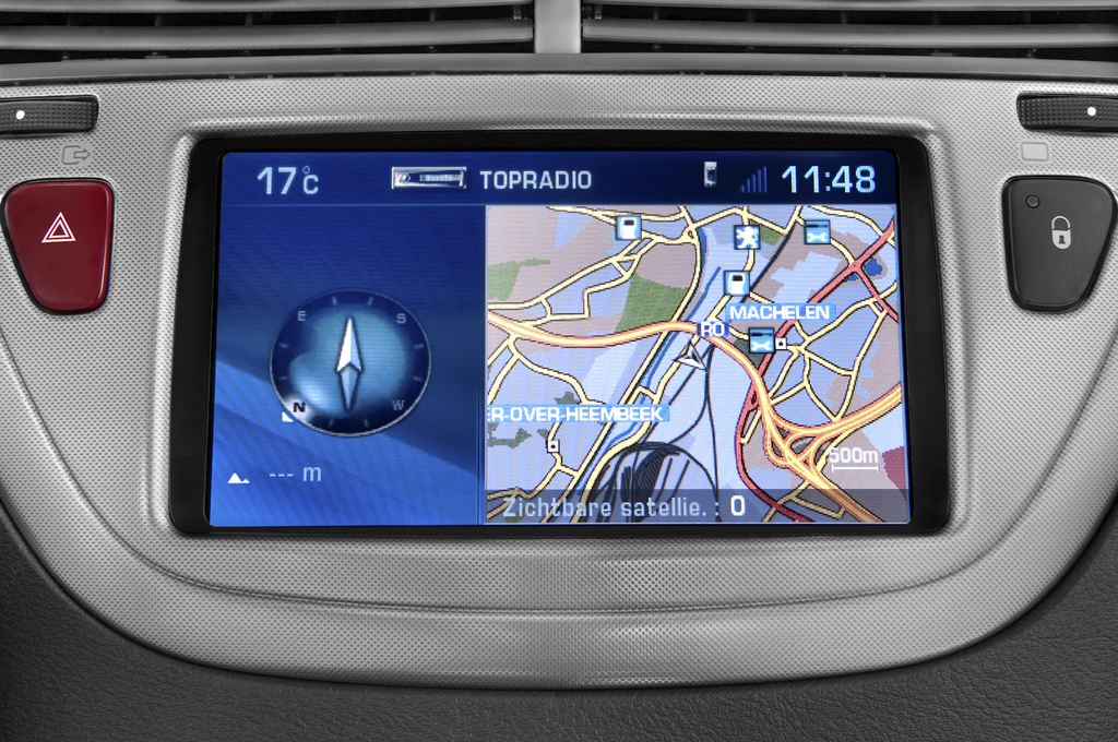 Peugeot 607 Platinum Limousine (2000 - 2010) 4 Türen Radio und Infotainmentsystem
