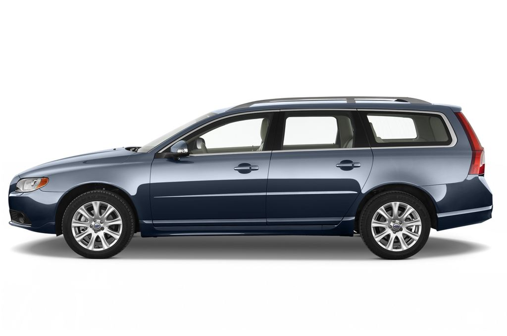 Volvo V70 Kinetic Kombi (2007 - 2016) 5 Türen Seitenansicht