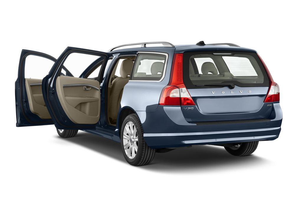 Volvo V70 Kinetic Kombi (2007 - 2016) 5 Türen Tür geöffnet