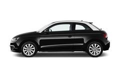 Audi A1 Ambition Kleinwagen (2010 - heute) 3 Türen Seitenansicht