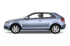 Audi A3 - Kompaktklasse (2003 - 2012) 3 Türen Seitenansicht