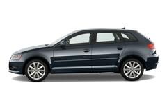 Audi A3 Attraction Sportback (2008 - 2012) 2 Türen Seitenansicht