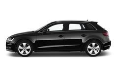 Audi A3 Ambition Sportback (2013 - heute) 5 Türen Seitenansicht