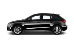 Audi A3 - Sportback (2013 - heute) 5 Türen Seitenansicht