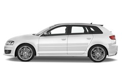 Audi S3 - Kompaktklasse (2006 - 2012) 5 Türen Seitenansicht
