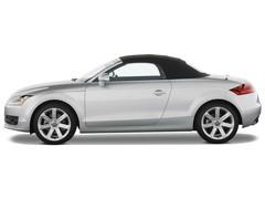Audi TT - Cabrio (2006 - 2014) 2 Türen Seitenansicht