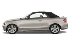 BMW 1er 125i Cabrio (2008 - 2015) 2 Türen Seitenansicht