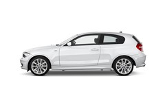BMW 1er 123d Kompaktklasse (2004 - 2013) 3 Türen Seitenansicht