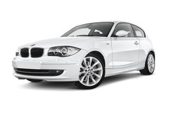 BMW 1er 123d Kompaktklasse (2004 - 2013) 3 Türen seitlich vorne mit Felge