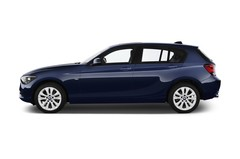 BMW 1er Urban Line Kompaktklasse (2011 - heute) 5 Türen Seitenansicht
