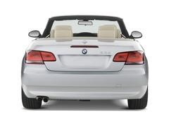 BMW 3er 335i Cabrio (2005 - 2013) 2 Türen Heckansicht