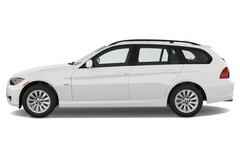 BMW 3er 325i Touring Kombi (2005 - 2013) 5 Türen Seitenansicht