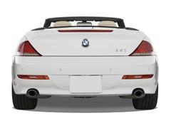 BMW 6er 650i  Cabrio (2003 - 2010) 2 Türen Heckansicht