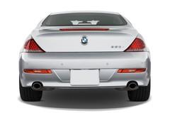BMW 6er 650i  Coupé (2003 - 2010) 2 Türen Heckansicht