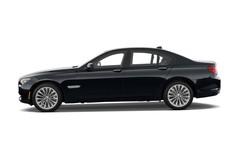 BMW 7er 750i Limousine (2008 - 2015) 4 Türen Seitenansicht