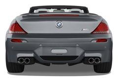 BMW M6 M6  Cabrio (2006 - 2010) 2 Türen Heckansicht