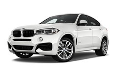 BMW X6 M sportpaket SUV (2014 - heute) 5 Türen seitlich vorne mit Felge