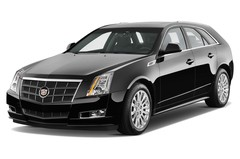 Cadillac CTS Sport Luxury Kombi (2009 - 2012) 5 Türen seitlich vorne