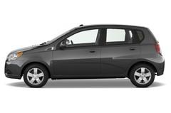Chevrolet Aveo LT Kleinwagen (2006 - 2011) 5 Türen Seitenansicht