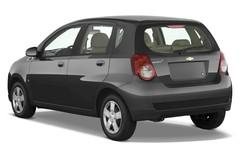 Chevrolet Aveo LT Kleinwagen (2006 - 2011) 5 Türen seitlich hinten