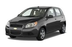 Chevrolet Aveo LT Kleinwagen (2006 - 2011) 5 Türen seitlich vorne