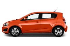 Chevrolet Aveo LT+ Kleinwagen (2011 - heute) 5 Türen Seitenansicht