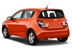 Chevrolet Aveo LT+ Kleinwagen (2011 - heute) 5 Türen seitlich hinten