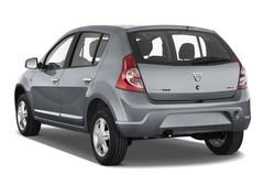 Dacia Sandero Laureate Kleinwagen (2008 - 2012) 5 Türen seitlich hinten
