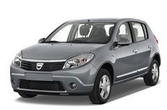 Dacia Sandero Laureate Kleinwagen (2008 - 2012) 5 Türen seitlich vorne