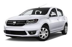 Dacia Sandero Laur�ate Kleinwagen (2012 - heute) 5 Türen seitlich vorne mit Felge
